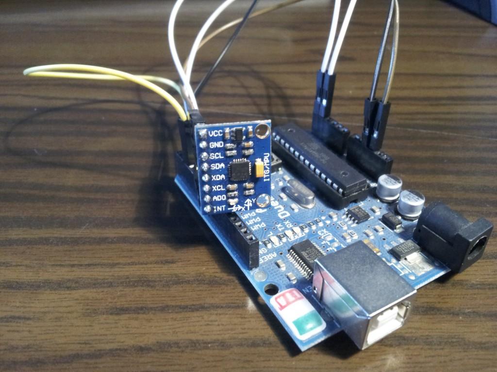 MPU6050: Giroscopio e accelerometro per Arduino