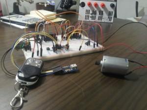 arduino centralina serranda cancello rf 433 mhz