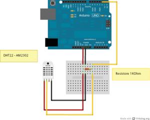 arduino_collegamento_DHT22_AM2302