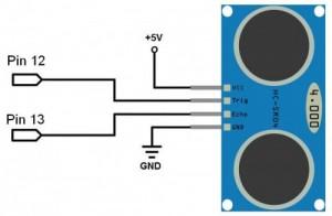 hc-sr04-collegamento-arduino