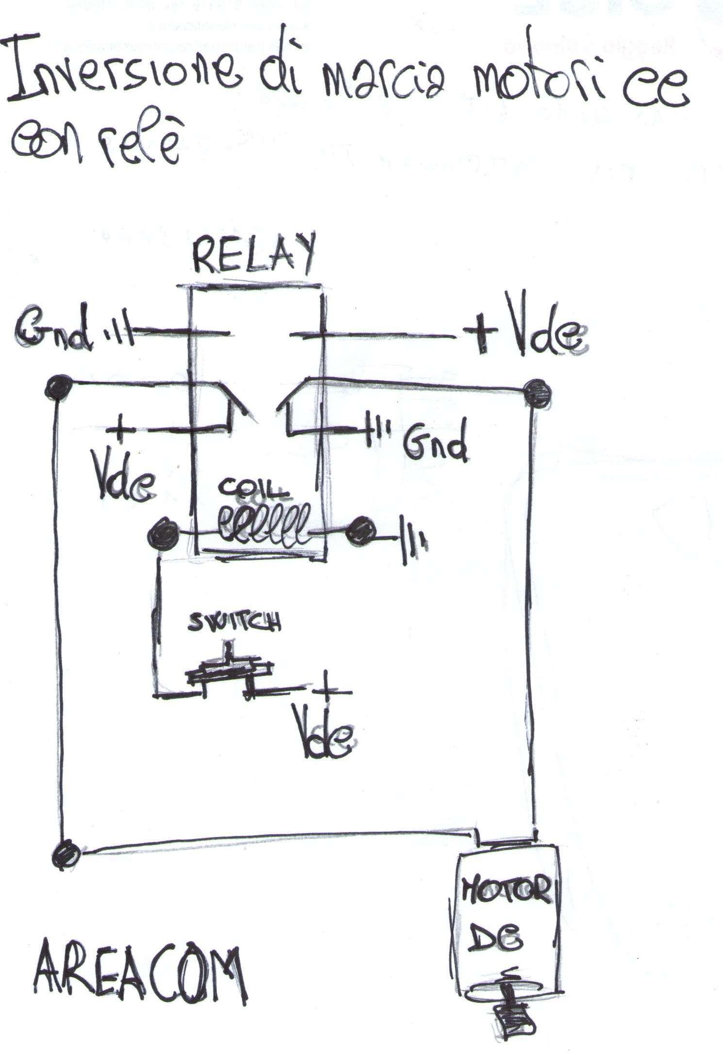 Schema Elettrico Marcia Arresto : Abbassare la tensione con un condensatore areacom